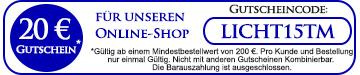 LeuchtenGalerie Gutscheincode / Rabattcode