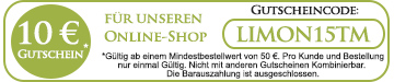 Limon Shop Gutscheincode / Rabattcode