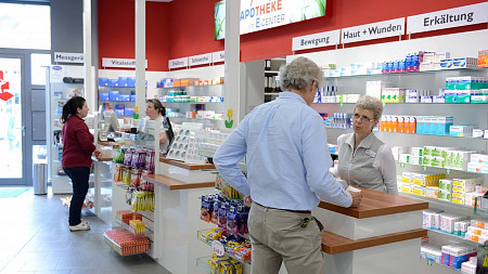 Apotheke im E-Center | Digitale Babywaagen Tübingen