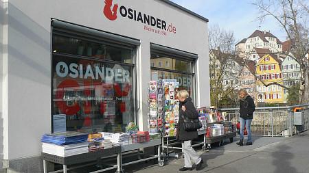Osiander-City an der Neckarbrücke | Postkarten Tübingen
