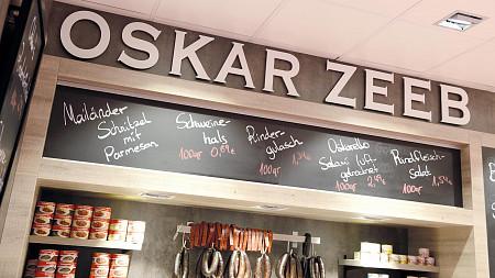 Metzgerei Oskar Zeeb in der Markthalle | Frischfleisch Tübingen