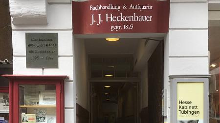 J. J. Heckenhauer | Erstausgaben Tübingen