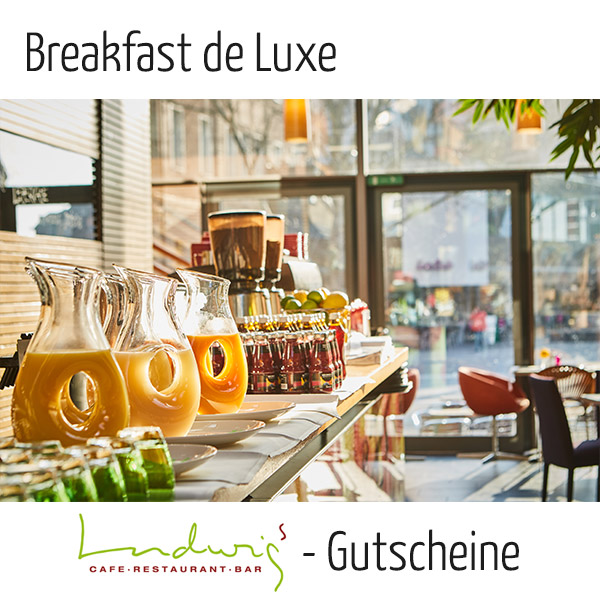 Breakfast de Luxe - Gutschein