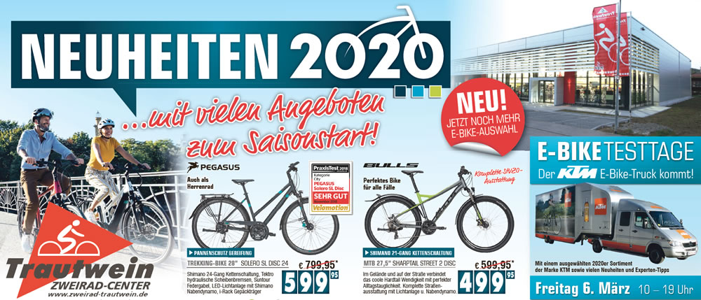 Zweirad Trautwein - Fahrrad & E-Bike Neuheiten 2020