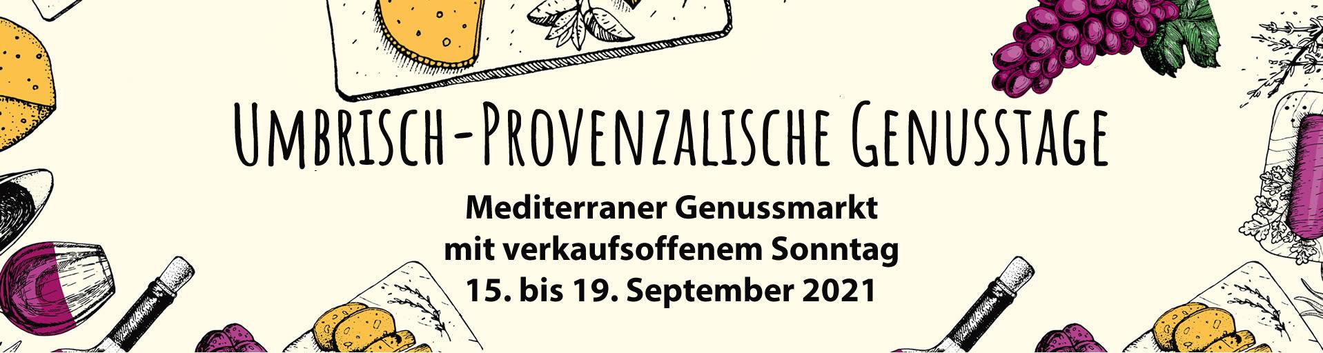 UP-Genusstage - Verkaufsoffener Sonntag Tübingen