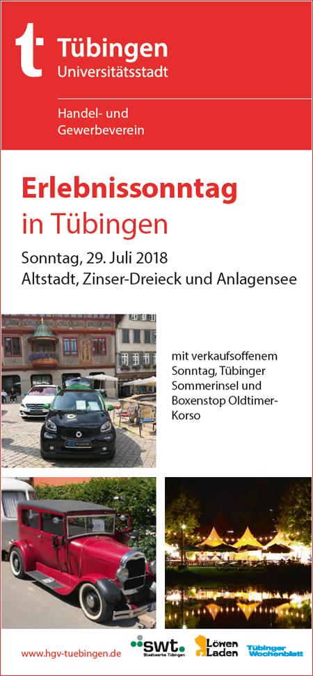 Verkaufsoffen in Tübingen