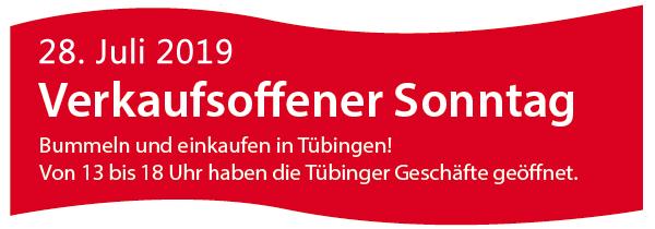 Verkaufsoffener Sonntag in Tübingen