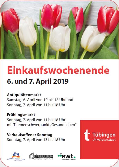 Frühlingsmarkt Tübingen