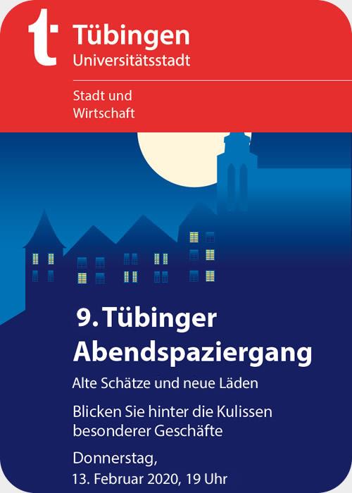Abendspaziergang Tübingen