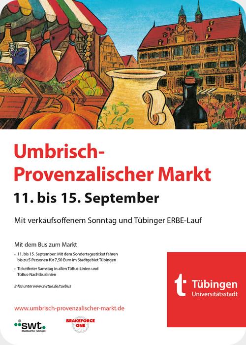 Umbrisch-Provenzalischer Markt 2019 Tübingen
