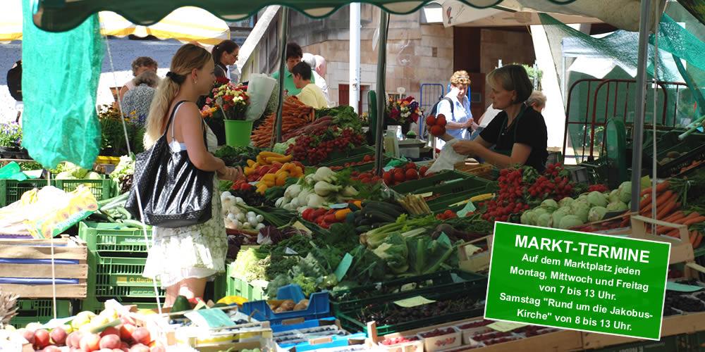 Wochenmarkt Tübingen